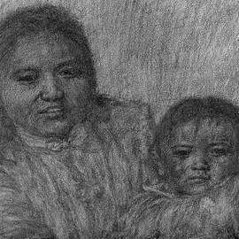 Mother And Child - Detail by Sami Tiainen