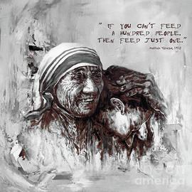 Gull G - Mother Teresa Of Calcutta Portrait