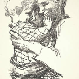 Mother with Child in Her Arms - Kathe Schmidt Kollwitz