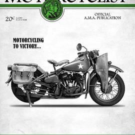 Motorcycle Magazine Harley WLA1942 - Mark Rogan