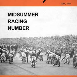 Motorcycle Magazine Midsummer Racing 1952 - Mark Rogan