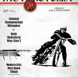 Motorcycle Magazine National Championship Milwaukee 1935 - Mark Rogan