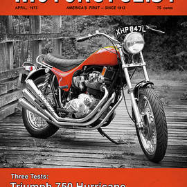Motorcycle Magazine Triumph Hurricane 1973 - Mark Rogan