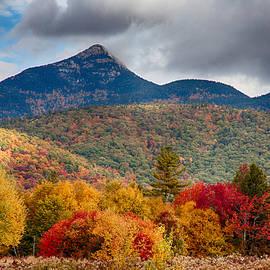 Peak Fall Colors on Mount Chocorua by Jeff Folger