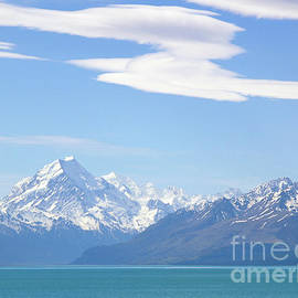 Mount Cook and the Southern Alps by Alex Cassels