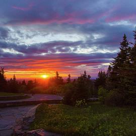 Gales Of November - Mount Greylock Sunset