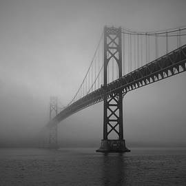 David Gordon - Mount Hope Bridge BW