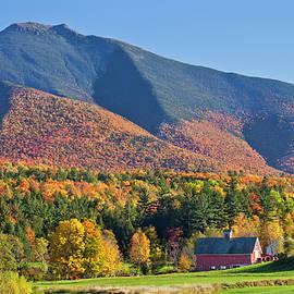 Alan L Graham - Mount Mansfield Autumn View