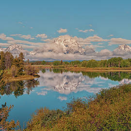 Brian Harig - Mount Moran On Oxbow Bend