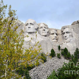 Mount Rushmore National Memorial by Kathy M Krause