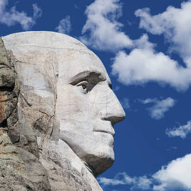 Mount Rushmore Profile of George Washington - Tom Mc Nemar