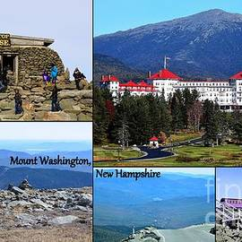 Mount Washington Collage by Patti Whitten
