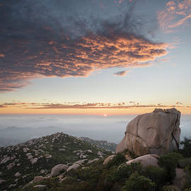 William Dunigan - Mount Woodson Rock and Sunset