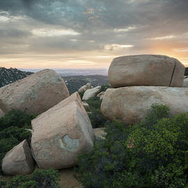 William Dunigan - Mount Woodson Sunset Clouds