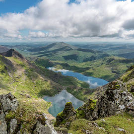 Mountain and Lakes - Adrian Evans