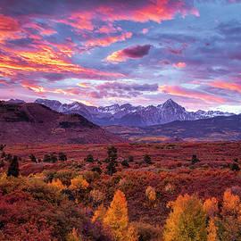 Mountain Autumn Sunrise by Andrew Soundarajan