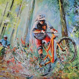 Mountain Biking 01 by Miki De Goodaboom