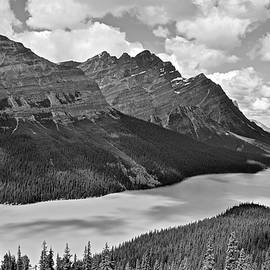 Frozen in Time Fine Art Photography - Mountain Black and White
