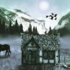 KaFra Art - Mountain  Cabin