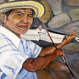 Mountain Fiddler by Marilyn McNish