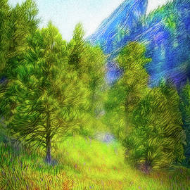 Joel Bruce Wallach - Mountain Field Springtime