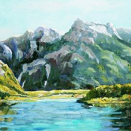 Ingrid Dohm - Mountain Lake