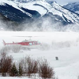 Mountain Landing by David Buhler