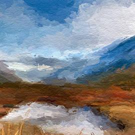 Anthony Fishburne - Mountain Landscape
