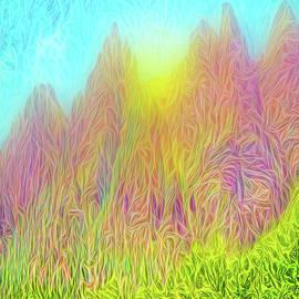 Joel Bruce Wallach - Mountain Sunrise Moment