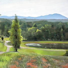 Christopher Reid - Mountain Vineyard