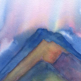 Frank Bright - Mountains Abstract