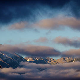 Jennifer Myers - Mountains and clouds