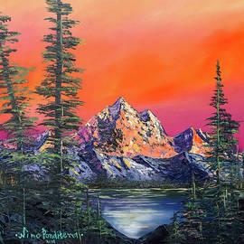 Mountains in Canada by Nino Ponditerra