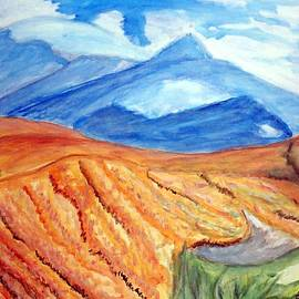 Mountains In Mexico by Stanley Morganstein