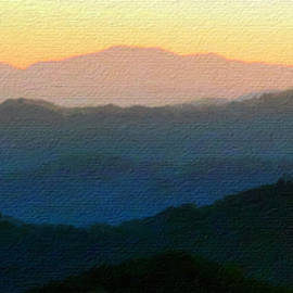 Mountains in the Yellow Sky by Claudia O'Brien