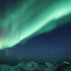 David Broome - Mountaintop Aurora