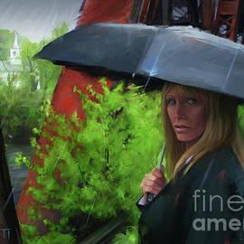Mourner In the Rain
