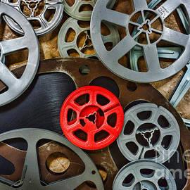 Movie Reels by Paul Ward