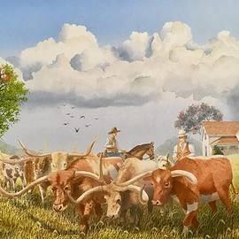 Moving The Herd by C Robert Follett