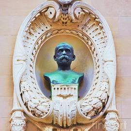 A Hidden Bust Of Mr. Henry Walter by Marcus Dagan