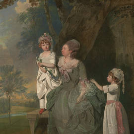 Mrs. Barclay and Her Children - Francis Wheatley