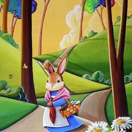 Mrs. Rabbit Heads Out - Cindy Thornton