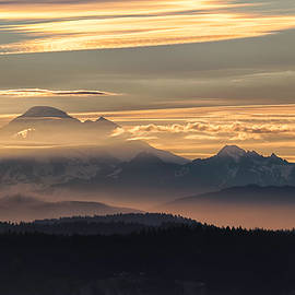 Mt Baker Morning Light - Thomas Ashcraft