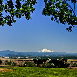 Mt Hood From Rocky Butte by Albert Seger