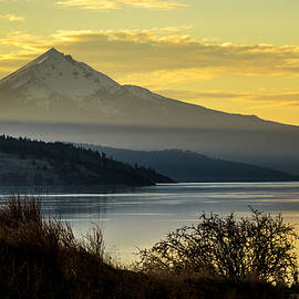 Mt Mclaughlin And Upper Klamath Lake by Albert Seger