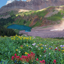 Aaron Spong - Mt. Sneffels and Blue Lake