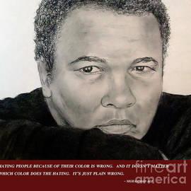 Jim Fitzpatrick - Muhammad Ali on Hating