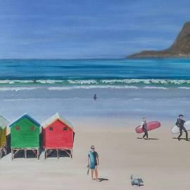 Jenny Smith - Muizenberg Beach