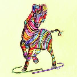 Eloise Schneider - Multi-colored Zebra