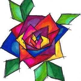 Perggals - Stacey Turner - Multi Rose